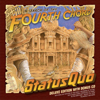 Status Quo In Search Of The Fourth Chord Album Cover