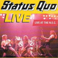 [Status Quo Live At The N.E.C. Album Cover]