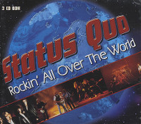 [Status Quo Rockin' All Over The World (Compilation) Album Cover]
