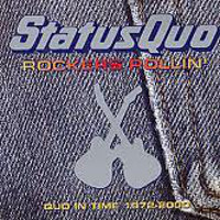 [Status Quo Rockers Rollin': Quo IIn Time 1972-2000 Album Cover]