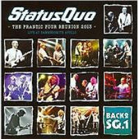 [Status Quo The Frantic Four Reunion 2013: Live At Hammersmith Odeon Album Cover]