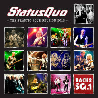 [Status Quo The Frantic Four Reunion 2013: Live At Wembley Arena Album Cover]