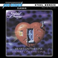 Steel Breeze Heart On The Line Album Cover