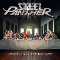 [Steel Panther All You Can Eat Album Cover]
