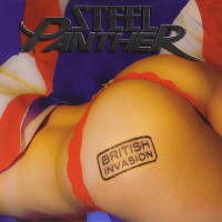 [Steel Panther British Invasion Album Cover]