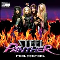 [Steel Panther Feel the Steel Album Cover]