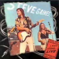 [Steve Gaines I Know A Little... Live Album Cover]