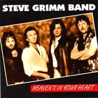 [Steve Grimm Band Heaven's In Your Heart Album Cover]