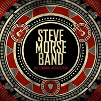 [The Steve Morse Band Out Standing in Their Field Album Cover]