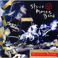 [The Steve Morse Band Structural Damage Album Cover]