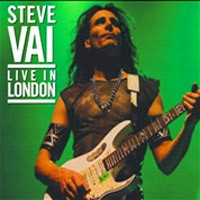 [Steve Vai Live In London Album Cover]