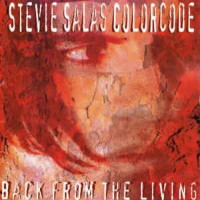 Stevie Salas Colorcode Back From the Living Album Cover