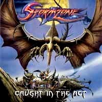 [Stormzone Caught In The Act Album Cover]