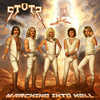Stutz Marching Into Hell Album Cover