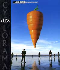 [Styx Cyclorama (DVD-Audio) Album Cover]