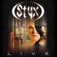 Styx The Grand Illusion/Pieces Of Eight: Live Album Cover