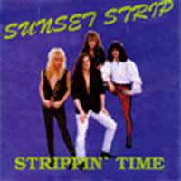 Sunset Strip Strippin' Time Album Cover