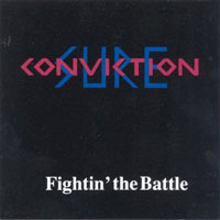 [Sure Conviction Fightin' the Battle Album Cover]