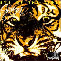 [Survivor Eye of the Tiger Album Cover]