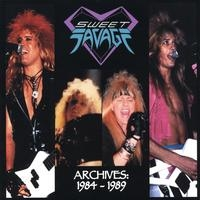 [Sweet Savage Archives: 1984-1989 Album Cover]