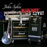 John Sykes Bad Boy Live! Album Cover