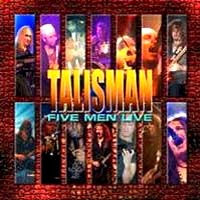 [Talisman Five Men Live Album Cover]