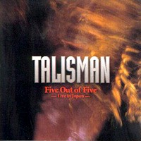 Talisman Five Out Of Five - Live In Japan Album Cover