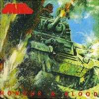 [Tank Honour and Blood Album Cover]