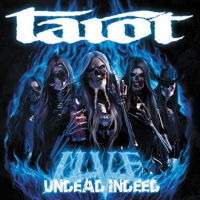 [Tarot Live - Undead Indeed Album Cover]