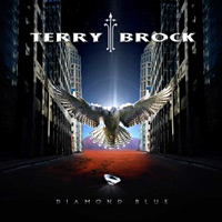 [Terry Brock Diamond Blue Album Cover]