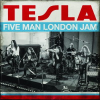 Tesla Five Man London Jam Album Cover