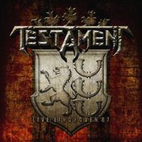 [Testament Live At Eindhoven '87 Album Cover]
