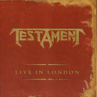 [Testament Live In London Album Cover]