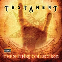 [Testament The Spitfire Collection Album Cover]