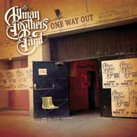 [The Allman Brothers Band One Way Out Album Cover]