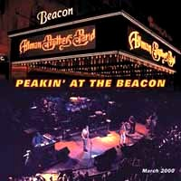 [The Allman Brothers Band Peakin' at the Beacon Album Cover]