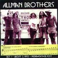 [The Allman Brothers Band Hot, High and Hallucinating Album Cover]