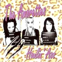 [The Amorettes Haulin' Ass Album Cover]