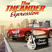 [The Theander Expression Strange Nostalgia Album Cover]