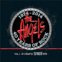 [Angels From Angel City 1974-2014 40 Years of Rock, Vol. 1: 40 Greatest Studio Hits Album Cover]