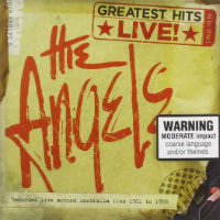 [Angels From Angel City Greatest Hits: Live Album Cover]