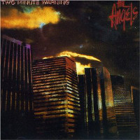 [Angels From Angel City Two Minute Warning (Australian Version) Album Cover]