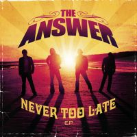 [The Answer Never Too Late EP Album Cover]