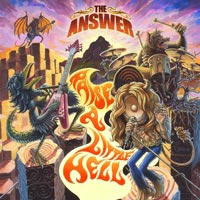 [The Answer Raise A Little Hell Album Cover]