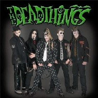 [The Deadthings When Hell Sleazes Over Album Cover]