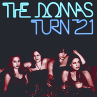 [The Donnas Turn 21 Album Cover]