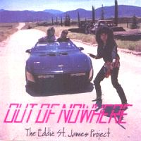 [The Eddie St. James Project Out Of Nowhere Album Cover]