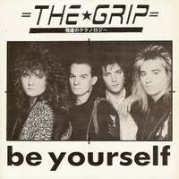The Grip Be Yourself Album Cover
