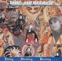 [The Heritage Living... Standing... Burning... Album Cover]