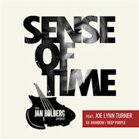[The Jan Holberg Project Sense Of Time Album Cover]